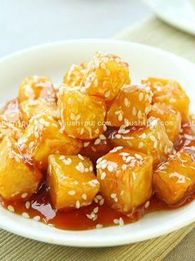 小吃 蜜烧红薯的做法