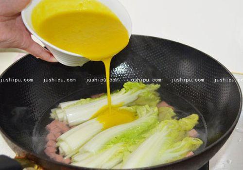 金汤娃娃菜的做法 jushipu.com