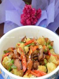 腊香花椰菜的做法