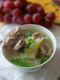 家常菜 冬瓜排骨汤的做法