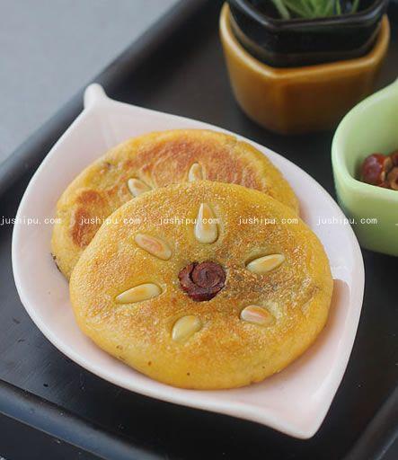 红薯饼的做法 jushipu.com
