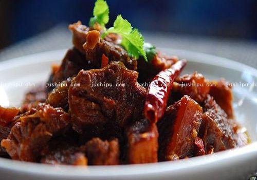 家常菜 香辣牛腩煲的做法