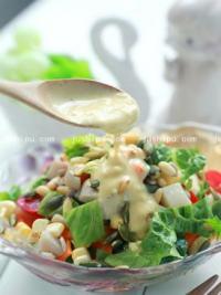芥味杏鲍菇沙拉的做法