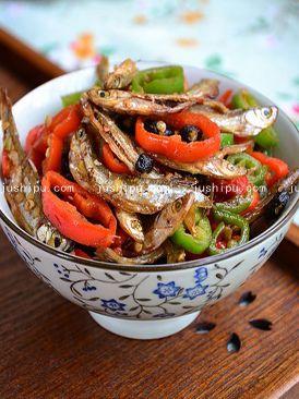 美食天下豆豉辣椒火焙鱼的做法