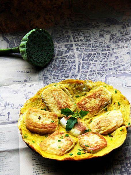 馒头片煎鸡蛋的做法 jushipu.com