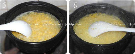 健脾鲜玉米粥的做法 jushipu.com