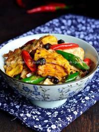 家常菜 豆豉辣椒炒荷包蛋的做法