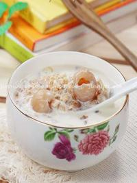 桂圆麦片粥的做法