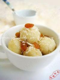 蜜汁地瓜丸子的做法
