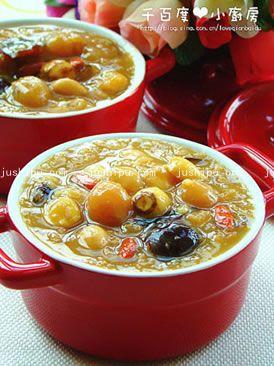 早餐 红糖营养粥的做法
