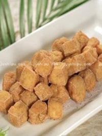 小吃 油炸臭豆腐的做法
