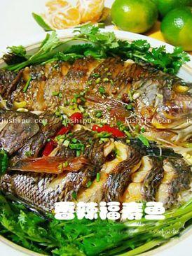 香辣福寿鱼的做法