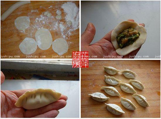 抱蛋煎饺的做法 jushipu.com