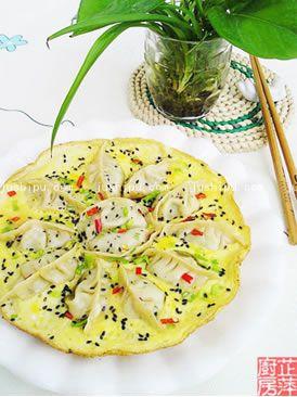宴客菜 抱蛋煎饺的做法