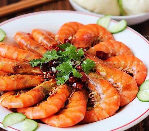 水煮香辣虾的做法 jushipu.com