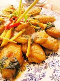 泰式咖喱鸡翅的做法