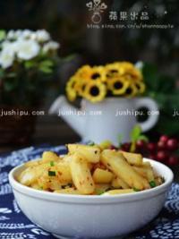 干煸孜然土豆条的做法
