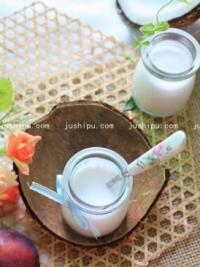 自制健康椰子汁的做法