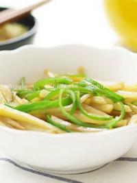 家常菜尖椒土豆丝的做法
