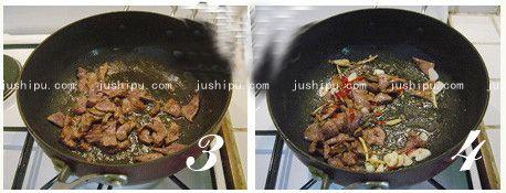 火爆猪肝的做法 jushipu.com