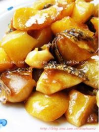 鲍鱼炖土豆的做法