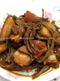 豇豆干烧肉的做法