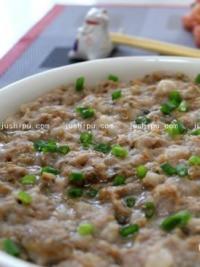 家常菜 梅菜蒸肉饼的做法