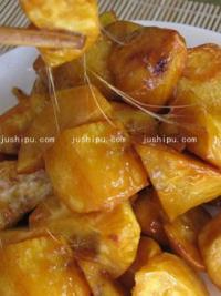 美食天下拔丝红薯的做法
