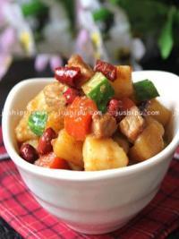 宴客菜 宫保土豆的做法