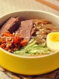 早餐 韩国冷面的做法