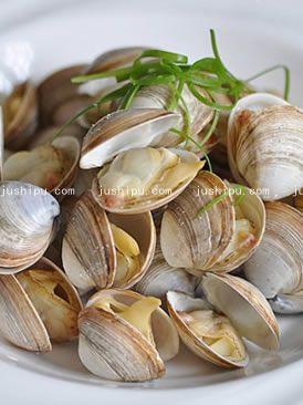 海鲜 烤白蛤的做法