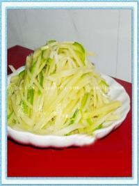清炒土豆丝的做法