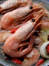 香糟北极虾的做法