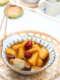 点心 红薯姜汤的做法