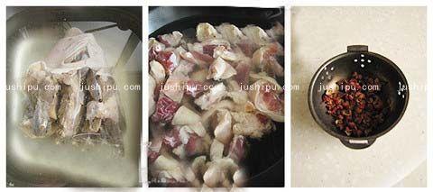 腊蹄膀莲藕煲的做法 jushipu.com