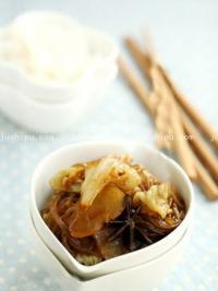 快手家常菜 白菜炖土豆的做法