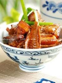 家常菜笋干烧肉的做法