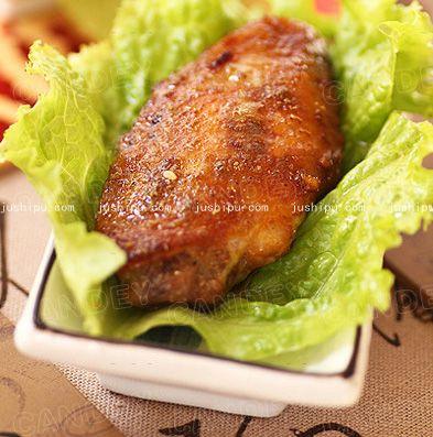 经典烤翅的做法 jushipu.com