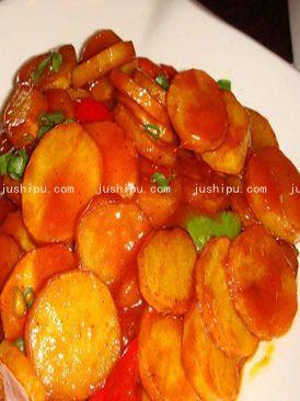 酸甜土豆的做法