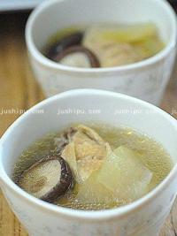 砂锅鸡肉冬瓜汤的做法