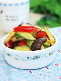 蚝油香菇西葫芦的做法