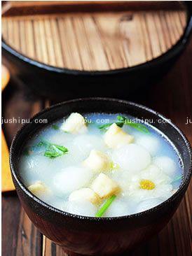 美食天下鲜贝冬瓜汤的做法