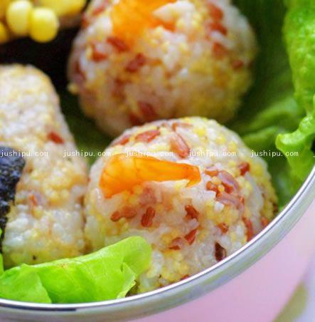 能量小饭团的做法 jushipu.com