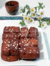 蜜汁豆腐的做法