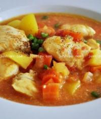 鹰嘴豆鱼汤的做法