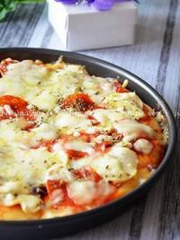 红豆披萨的做法