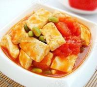 番茄炒豆腐的做法