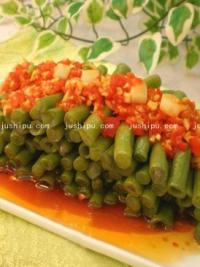 红油豇豆丁的做法