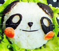 鱼香茄子熊猫盖饭的做法