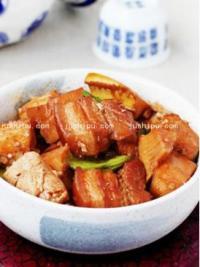 韩式酱笋烧豆腐的做法